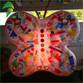 Lighting Colorful Event Display PVC Inflatable Air Butterfly Animal Balloon