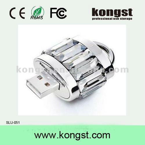 Fashion Crystal USB flash disk 2.0