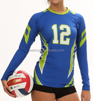 Custom design sublimation volleyball jersey