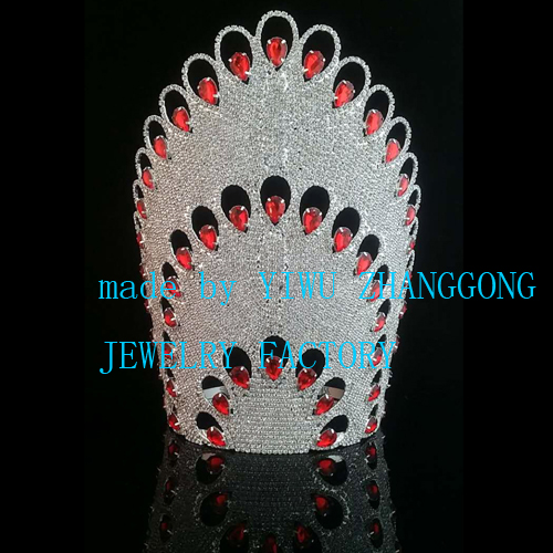 New design beauty rhinestone pageant tiara