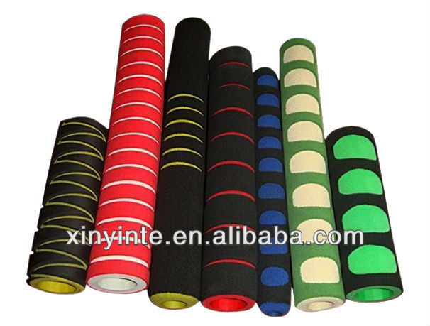 wholesale colorful rubber foam handle sleeves