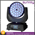 Indoor Stage Use Memory Function Full-Color 36Pcs 4 In 1 Rgbw Led Sharpy Wash Zoom Moving Head Light
