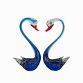 Home decoration use Murano glass swan
