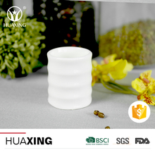high quality durable porcelain toothpick container with line