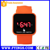 NEW silicone sport watch fashion led watch instructions watch price reloj de pulsera