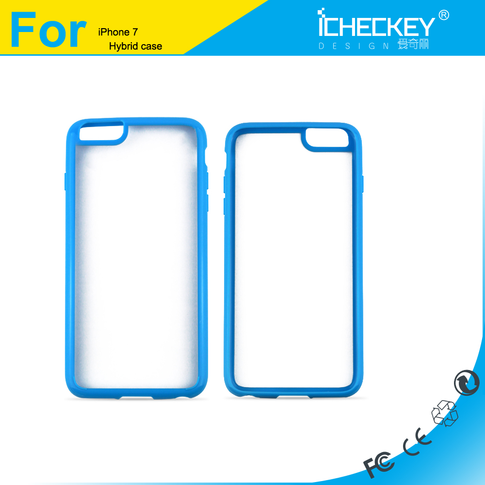 customized shockproof bulk cell phone case tpu pc phone case for iphone 6