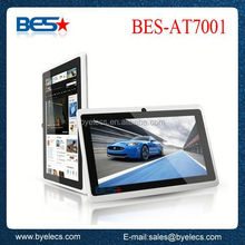 Best entry level tablet 512MB/4GB memory android 4.0 q88 pouch for 7 inch tablet pc