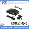 Composite Video AV S-Video RCA to PC Laptop VGA TV Converter adapter box New