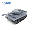 3828 1 1/26 Scale 27MHz IR German Tiger Panzer RC Battle Tank With Simulated Light Sound