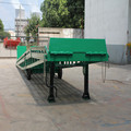 Container loading and dischrge platform /container loading ramp