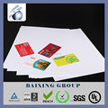 white rigid PVC card sheet for playing card / SIM card / IC card