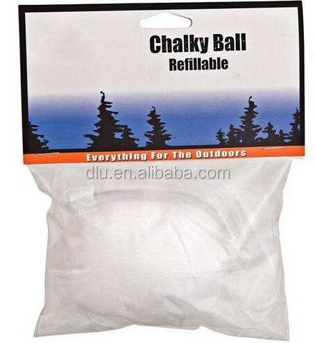 Chalky Ball - Refillable - Great For Keeping Chalk Dust To A Minimum