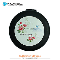 New design sublimation CD case,compact and portable CD case