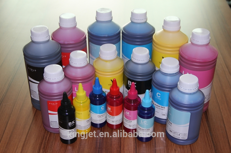 Dongguan Kingjet company water based pigment Ink for Epson 9400 printer
