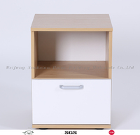 Small beside table with one drawer/mini fashion night stand.