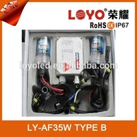 BEST-SELLING !!! High Quality HID Xenon 12V 35W Bixenon 6000k H4 HID KIT Completed kits Xenon Car Headlight Lamp