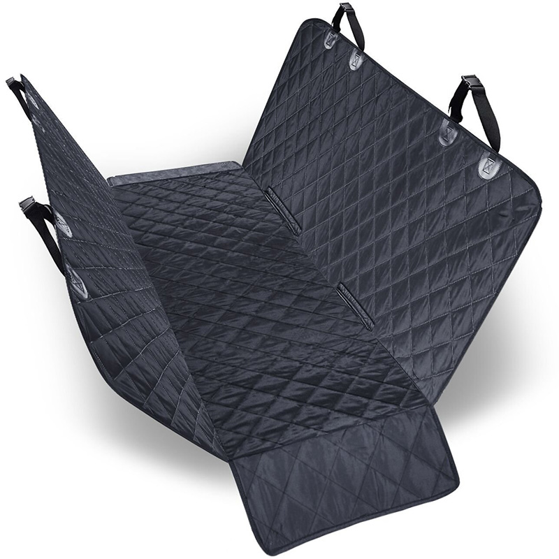 WaterProof & nonslip backing quilted dogs pet car seat cover,soft foldable pet dog car seat cover