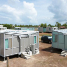Modular Container House as Temporary Kindergarden School Classroom
