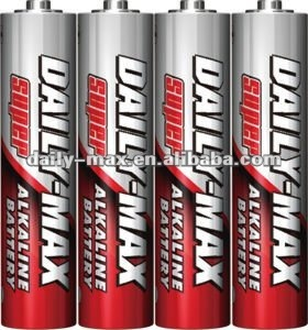 LR03 AM-4 AAA size Alkaline Battery
