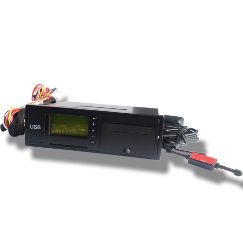 GH 9V 12V 24V 48V shenzhen travelling data recorder digital gps tachograph with Remote Fuel Engine Control