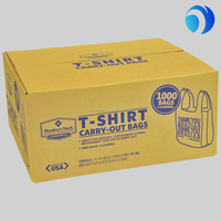 high quality t-shirt bags in box with printing wholesa;es small
