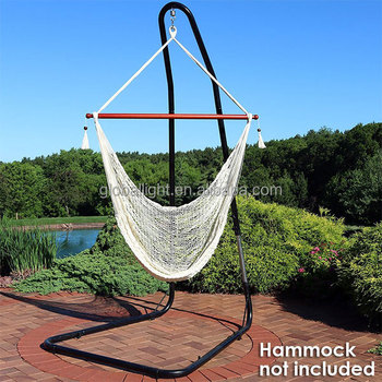 Patio Garden Hanging Steel Adjustable Hammoch Chair Stand