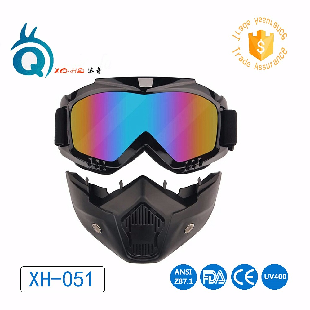 Super Ski Snowboard Off-road Goggles FITS OVER RX GLASSES Eye Lens Motorcycle Bike ATV Motocross GOGGLE