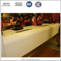 acrylic solid surface composite stone for kitchen countertops
