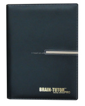 Customized Logo Classic Diary Book Note Book PU Leather Cover