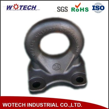 Customized Carbon Steel Forging Hot Forged Ring Auto Truck Part