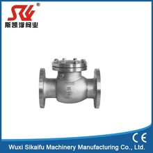 Exceptional rf flanged swing check valve back pressure retention valve