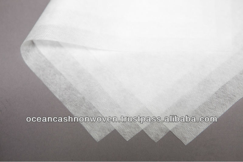 Thermal Bonded Back Sheet Nonwoven - Staple Hydrophobic PP