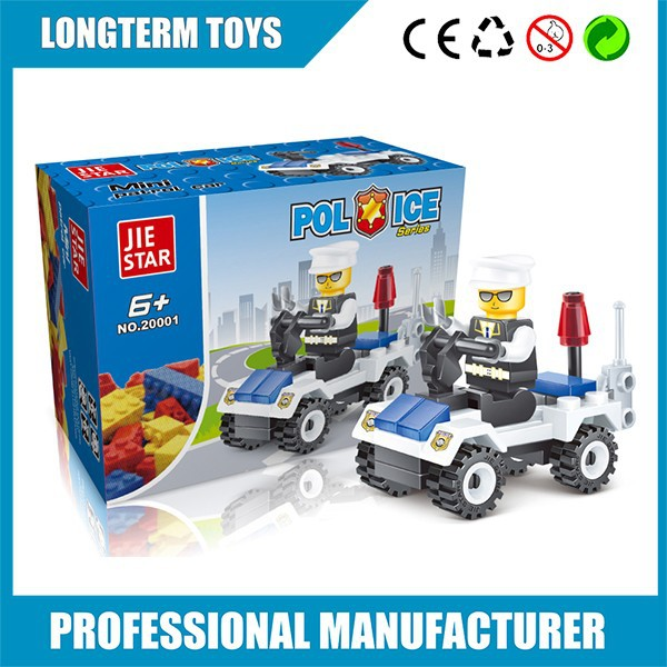 Product Toys For Boys : Diy policeman boys best building toys plastic toy
