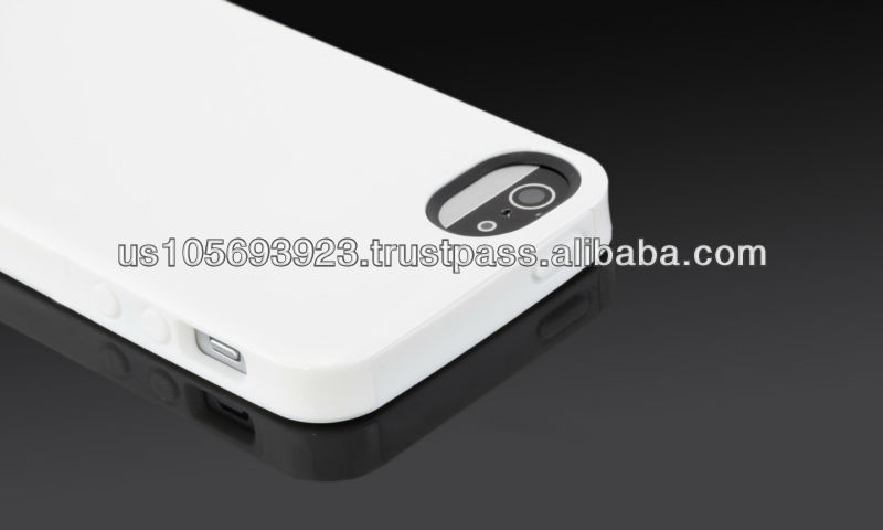 Christmas design PC back cover with TPU inside 2in1 combo case for iphone 5