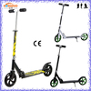 High quality 200m PU wheel kick scooter foldable aluminum electric scooter for adult