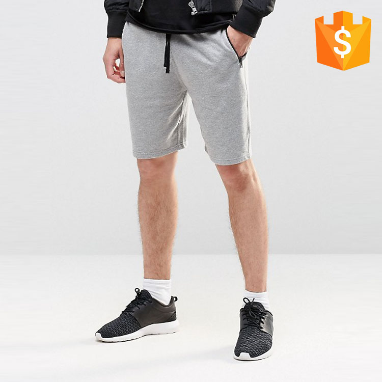 OEM clothing factory sports wear slim fit mens exercise jersey shorts