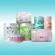 2014 Hot new products plastic wrapping sheet manufacturer for facial tissue packaging