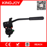 Kingjoy geared tripod head, fluid head tripod, camera tripod head KH-6750