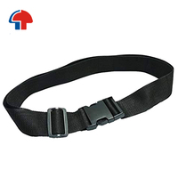 garment use custom nylon polyester webbing fabric safety black seat belts
