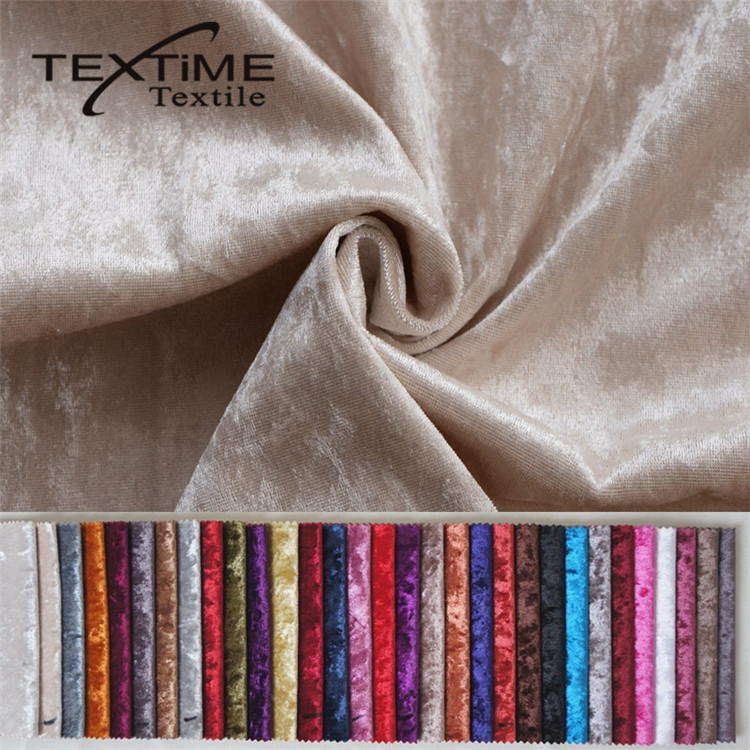 2017 Best Colorful Stock Cheap Ice Velvet Fabric