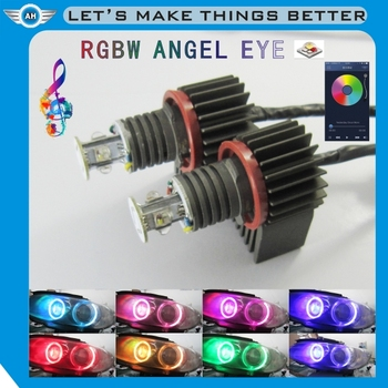 E4 &R87 High quality led side marker rgb wiress control angel eyes for bmw e60 e90 e92 f10 f11bmw parts