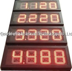 New design digital wall led countdown timer led p10 rgb display module