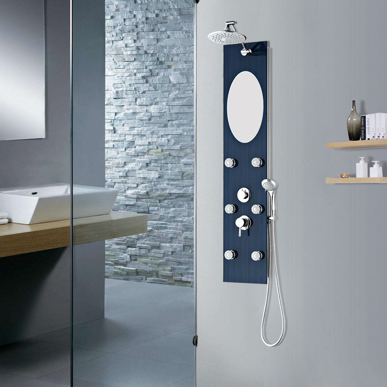 best selling product professional oem overhead anti-fingerl shower panels