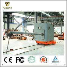 High flame-proof slag retaining dart application machine to improve the molten steel quality