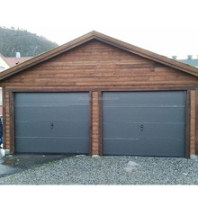 Automatic Horizontal sliding garage doors with PU Foam Insulation