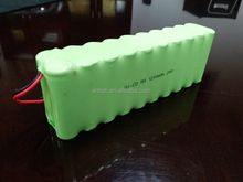 BIS Approved Ni-Cd AA 1200mAh 24v customized rechargeable battery pack
