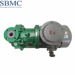 OEM high efficiency and low noise high pressure fluorine plastic waste oil pump