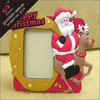 Cheap plastic photo frame/ Christmas photo frame / basketball photo frame