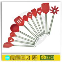 Kitchen tool silicone stainless steel kitchen utensils