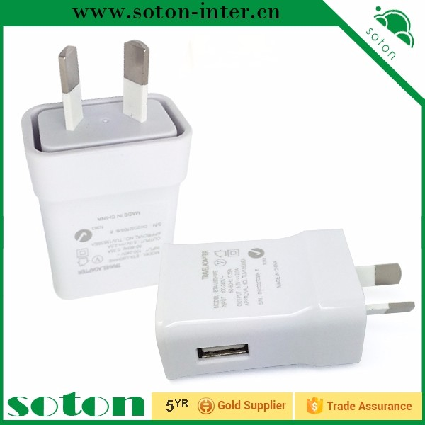 Australia socket plug for phone battery 5v 2a micro usb wall charger